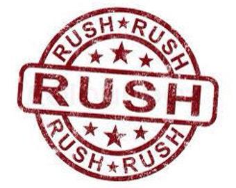 RUSH ORDER FEE