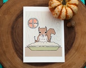 squirrel card: fattening up