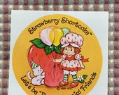 kenner strawberry shortcake sticker