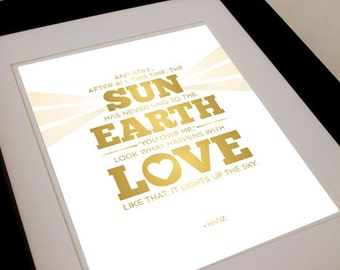 Love Like That - Inspirational Typographic Print