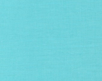 Cloud9 Cirrus Solids Sky Solid Blue Organic Cotton Quilting Fabric