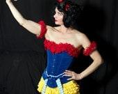 Handmade Snow White Costume perfect Womens Costume for Halloween