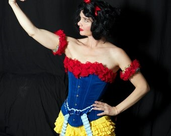 Handmade Snow White Costume perfect Womens Costume for Halloween