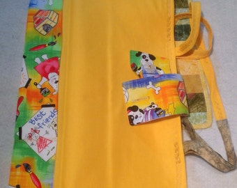 Pet Travel Tote and Placemat