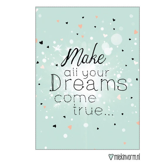 how to make your dreams come true pdf