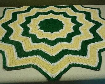 Packers de Green Bay pour bébé couverture bébé, John Deere vert jaune blanc