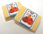 Pumpkin Spice Goats Milk Soap Handmade GIANT Bar SLS Detergent Free
