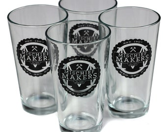 Mischief Makers Local 816 Pint Glass - Set of 4