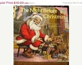2800 Items To Choose From 1975 The Night Before Christmas, Santa, Kris Kringle, Christmas Tree, Illustrations by Douglas Gorsline retro 1970