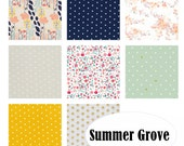 Custom Crib Bedding-3 piece-SUMMER GROVE