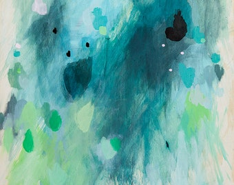 abstract fine art print . clearing . a4 - large format, five sizes . free shipping within australia