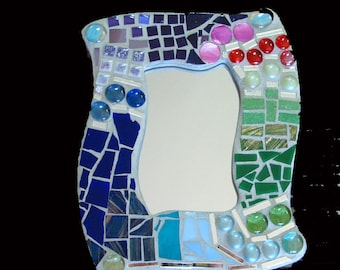 Mosaic Mirror or Picture Frame Change as Often As you Like