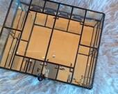 Sunflower Glass Studio - Square Glass Beveled Box