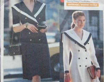 Vogue Career Dress Pattern 2457