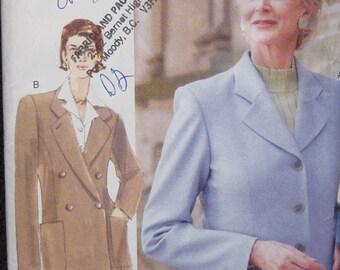 Vogue Woman Jacket Pattern 9591Plus Size