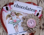 Valentine Day Heart, Valentines Day Decor, Valentine Sign, Valentines Day, Heart, Wall Decor, Cupid, Arrow, Pink, Red, Shabby Chic, ofg team
