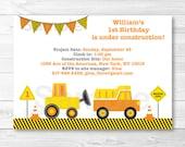Construction Truck Birthd...