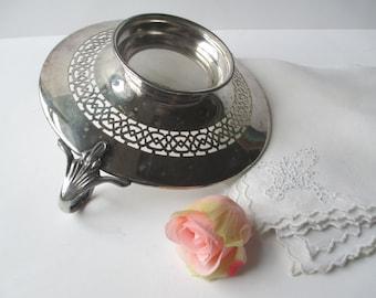 Vintage Middletown Silver Plate Handled BonBon - Chic Decor