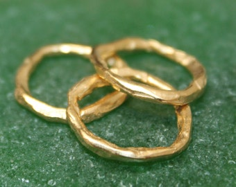 Gold Link Artisan made Rustic Style   001/LL201G