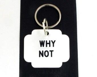 Why Not Novelty Plastic Key Chain