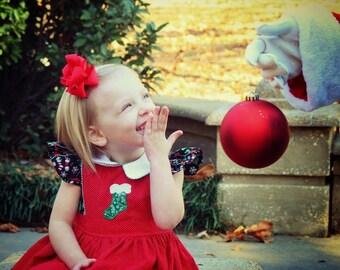 Kari dress Vintage Christmas Dress
