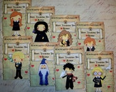 VALENTINES DaY CARDS - HaRRY PoTTER Valentines - Personalized - Set of 24 - Will you be my Valentine?  VC 8766