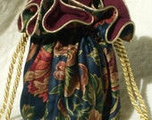 Anti Tarnish Jewelry Pouch, Bag in regal Navy