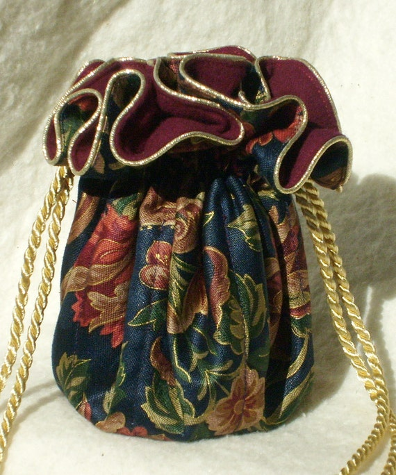 Anti tarnish jewelry pouch bag in regal navy for Anti tarnish jewelry bags
