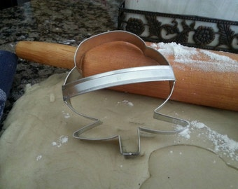 Cotton Boll Cookie Cutter With Custom Handle By West Tinworks