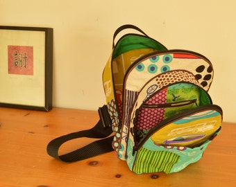 2  Sling Pack Zippers made to go with my pattern