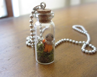Trick R Treat - Bottled Sam necklace