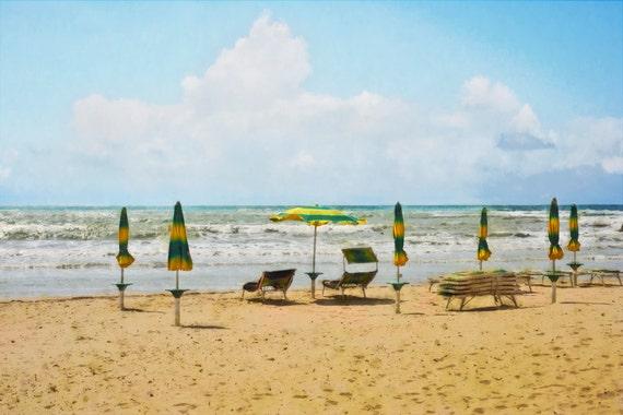 Sicilian Beach  Archival Print
