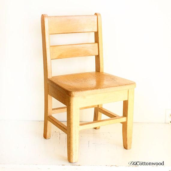 Vintage Chair Kids Chair Childs Chair Kiddie Chair