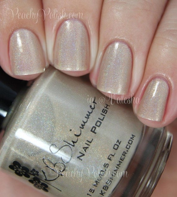 Chanel Holographic Nail Polish: In Bare Form Holographic Nail Polish Nail Polish 0.5 By