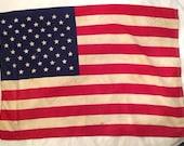 Vintage Flag United States of America USA 50 star Ajax Paramount