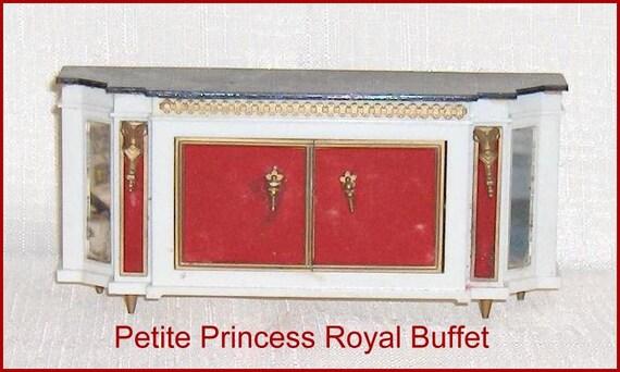 royal buffet vintage ornate ideal petite princess fantasy. Black Bedroom Furniture Sets. Home Design Ideas