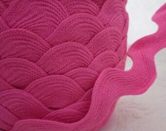 Extra Wide Hot Pink Jumbo Ricrac