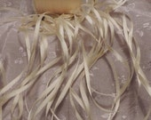 "Gorgeous ""Butter"" 2mm silk ribbon 5 yards Color 502"