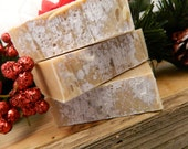 White Christmas Cold Processed Goats Milk Soap