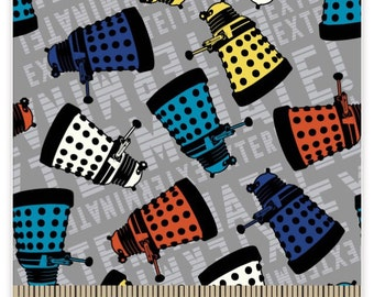 Doctor Who Dalek Fabric Remnant 22""