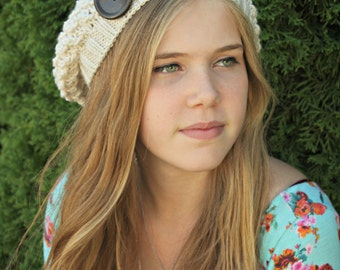 PATTERN Slouch 'Piper' Hat - Child & Adult Sizes PATTERN