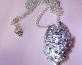 Silver Plated Shell Necklace
