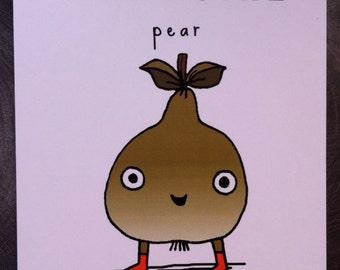 Mr Poire card