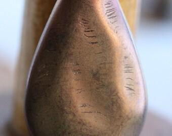 BRONZED BEAUTY .. 1 Premium Picasso Czech Glass Pendant (3985-1)