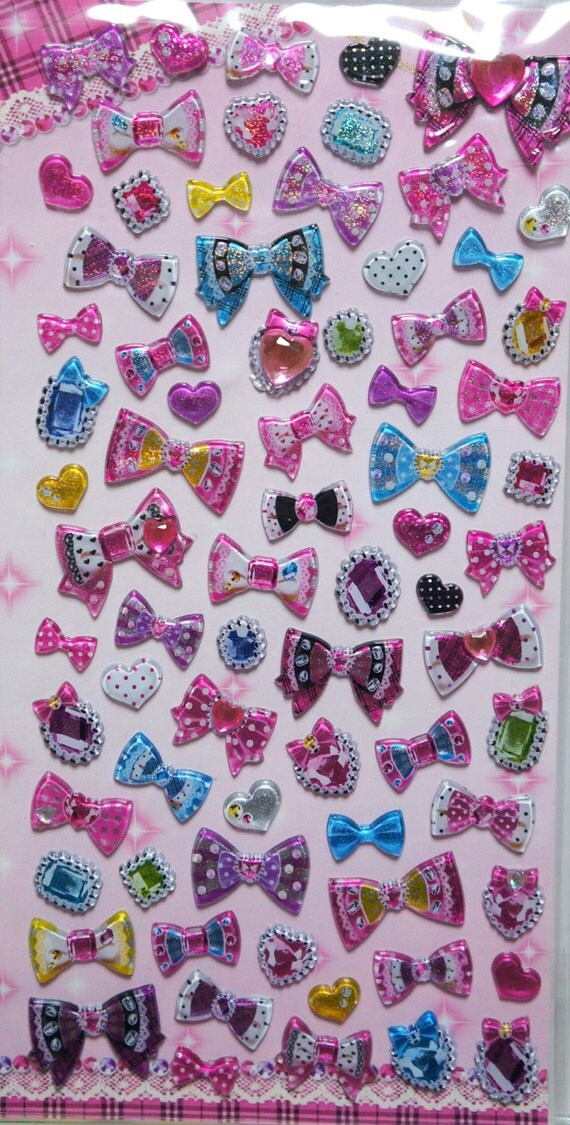 Deco Sticker bow ST2