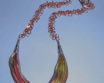 Silky Reflections Necklace