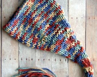 SALE Baby Hat, Newborn Photo Prop Baby Hat Stocking Baby Hat, Knit Baby Hat, Photography Prop