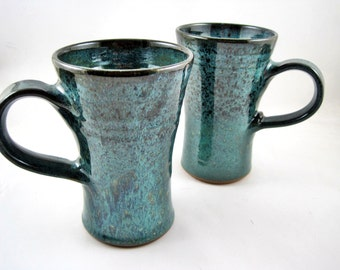 Handmade mug, pottery coffee mug, ceramic mug, large mug - 16 oz - In stock