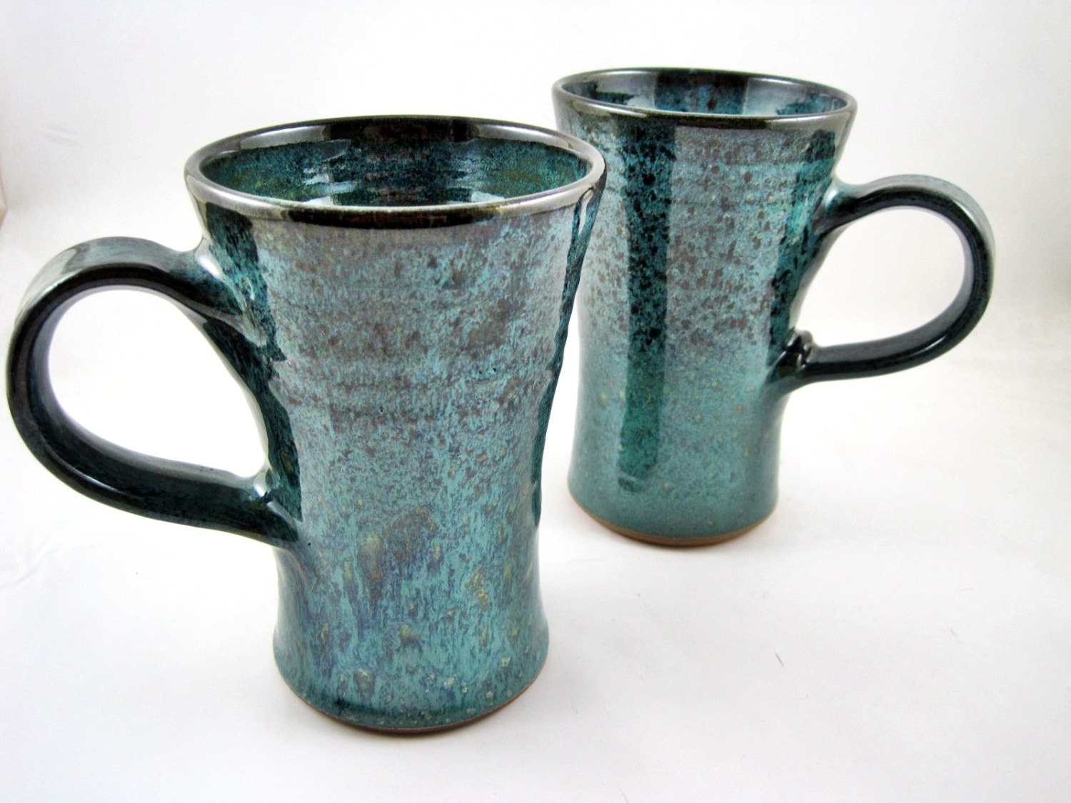 Handmade mug pottery coffee mug ceramic mug by Unique coffee cups mugs