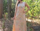 50% OFF 70s Prairie Lace English Garden Maxi Dress